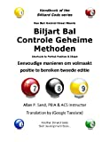 Cue Ball Control Cheat Sheets (Dutch), Allan Sand, 1625051514