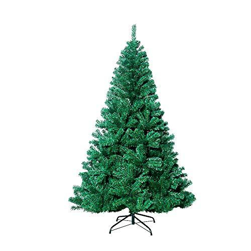 VEYLIN – Árbol de Navidad (2,1m, 1600 puntas, árbol artificial con soporte de metal)