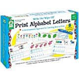 Carson-Dellosa Publishing 846035 Write-On/Wipe-Off Print Alphabet Letters Activity Set, Ages 4 and Up (CDP846035)