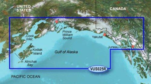 Garmin BlueChart g2 Vision Anchorage/Juneau Saltwater Map microSD - Shopping Anchorage