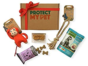 Protect My Pet Dog Gift Box filled with Natural & Ethically ...