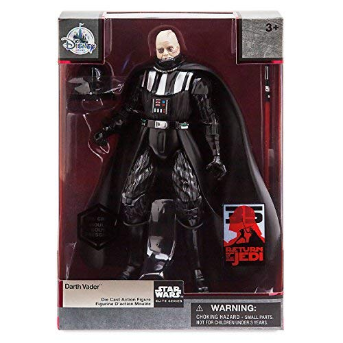 - Star Wars Darth Vader Elite Series Die Cast Action Figure Return of the Jedi 35th Anniversary Edition