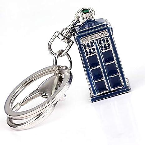Llavero Doctor Who Llaveros 3D Metal Dalek Tardis Police Box ...