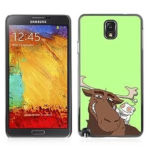 YOYOSHOP [Funny Reddit Alien & Moose] Samsung Galaxy Note 3 Case
