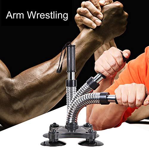 Yaegoo Arm Wrestling Equipment Hand-Muscle Developer Grips Wrist Exerciser Forearm Trainer (Silver)