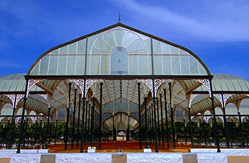LAMINATED POSTER Bangalore Botanical Garden Glass House Lal Bagh Poster Print 24 x 36 (Bangalore Garden Furniture)