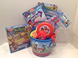 Paw Patrol Easter 5 Small Bucket of Fun 19 Piece Gift Basket Set