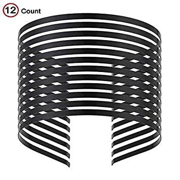 A Metal Double Wire Design Silver Finish Lightweight Alice Hair Band