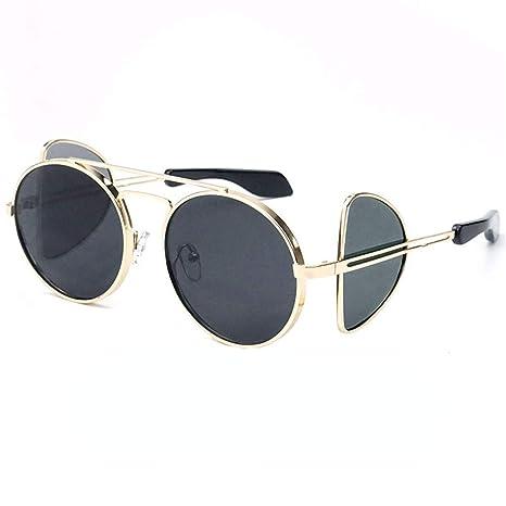 Gafas simples Gafas de sol de regalo pequeño marco de metal ...