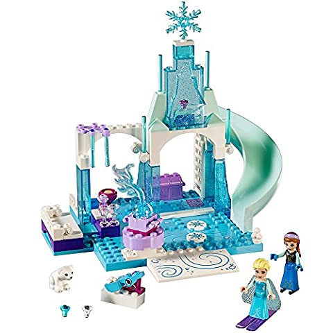 LEGO l Disney Frozen Anna & Elsa's Frozen Playground 10736 Disney Princess Toy (Lego Junior Princess)