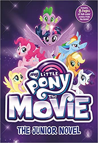 my little pony the movie the junior novel beyond equestria