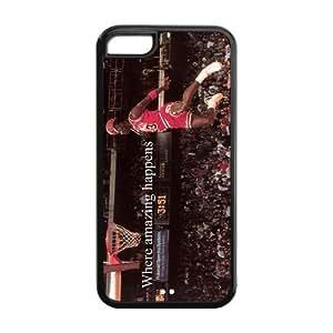 diy zhengGodstore Cool Michael Jordan iPhone 6 Plus Case 5.5 Inch Best Rubber Cover Case