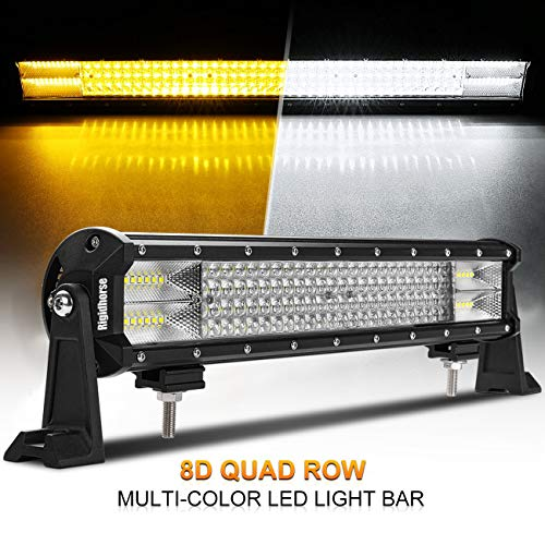 Rigidhorse LED Light Bar Triple Row 23 Inch Light Bar 216W Spot Flood Combo Off Road Light Bar High Bright for Ford F150 F350 Jeep wrangler Dodge Volvo Toyota 4runner