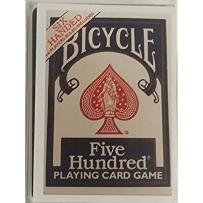 Bicycle Six Handed 500 Card Deck: Sports & Outdoors
