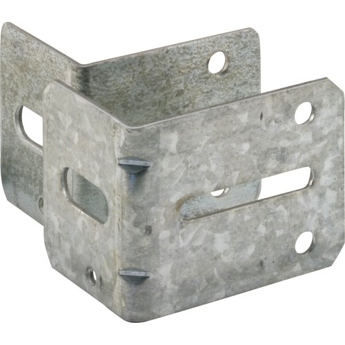Number Bracket (Prime-Line Products GD 52220 Track Brackets, 1 Each  Number-1 and  Number-3 with Fastners,(Pack of 2))