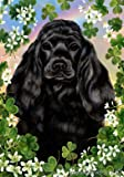 Cocker Spaniel Black – Tamara Burnett St Patricks Large Flag For Sale