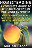 A Complete Guide to Self Sufficiency in the Modern World, Marlon Green, 1481290096