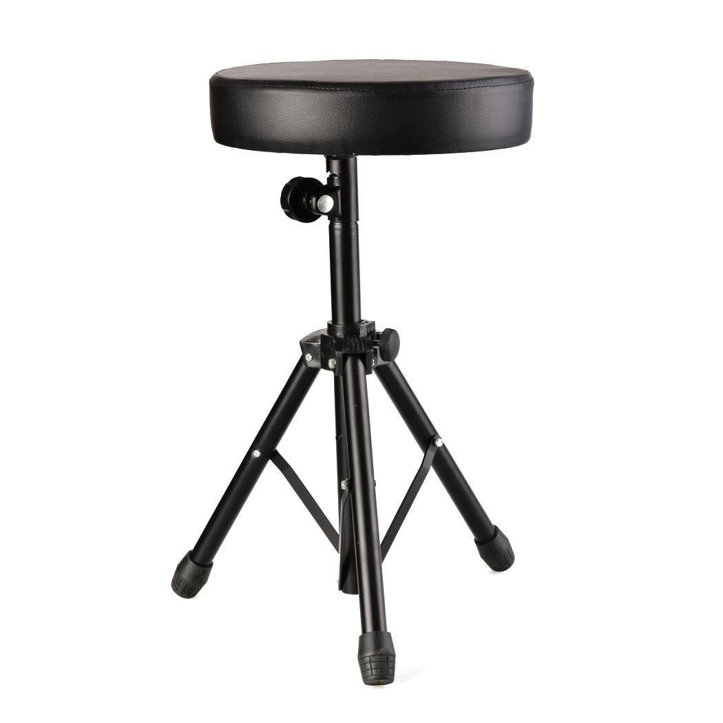 Cosway Drum Throne Chair, Adjustable Rotatable Soft Padded