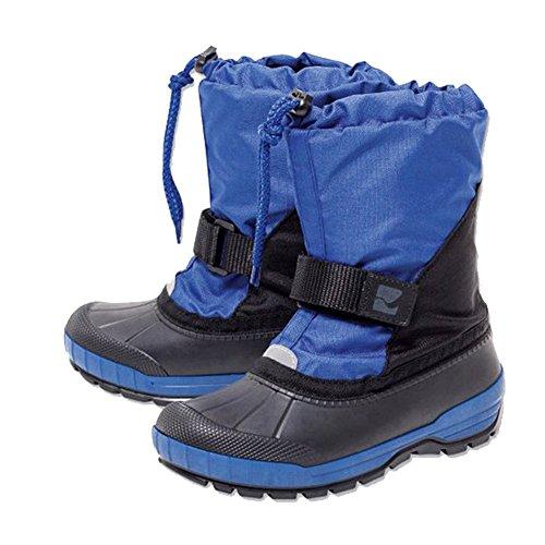 Schneestiefel Winterstiefel für Jungen 29-30 Blau-Schwarz Warme wasserdichte und Wärmendes Innenfutter 100% Polyester