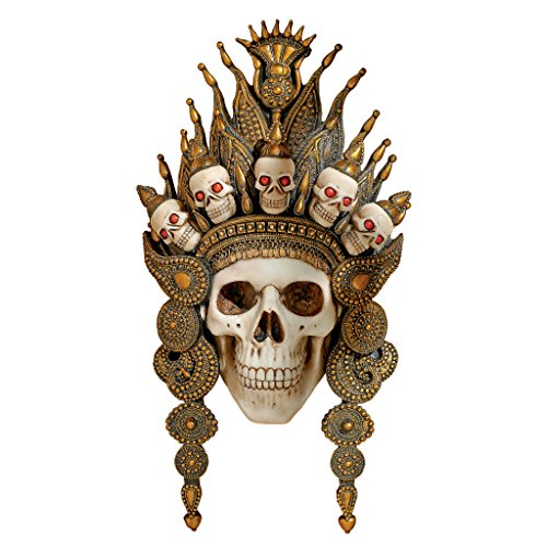 Toscano Mask (Design Toscano Balinese God of the After Life Sculptural Skull Wall Mask)