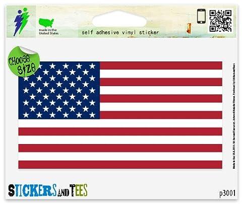 American Flag Vinyl Car Bumper Window Sticker 4