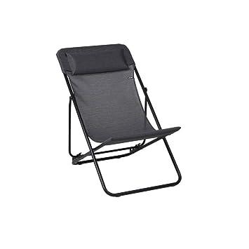 Couleur Chaise Transat Obsidian Longue Lafuma Plus Maxi vOnm8wN0