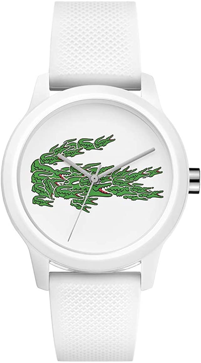 Lacoste Reloj Analógico para Mujer de Cuarzo con Correa en Silicona 2001097