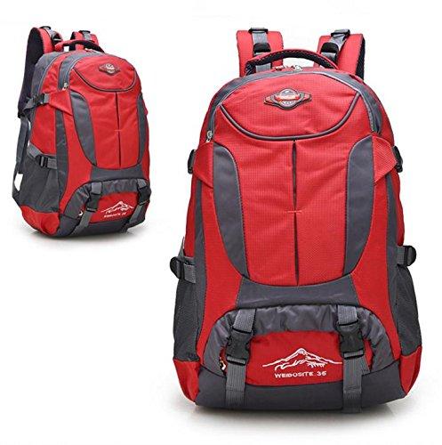 HCLHWYDHCLHWYD-bolso del alpinismo del hombro del bolso de las mujeres y los hombres al aire libre del alpinismo mochila de gran capacidad mochila de viaje bolsa , 1 3