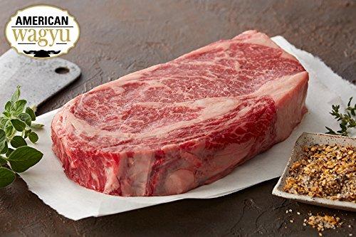 4 (8oz) Wagyu Kobe Style Ribeye - Chicago Steak Company - WAG153 4 8OZ (Grilling Ribeye Steaks)