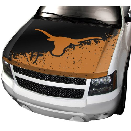 NCAA Texas Longhorns Auto Hood Cover, One Size, One Color