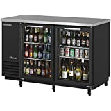Turbo Air TBB-2SG 58in 2 Glass Door Back Bar Cooler