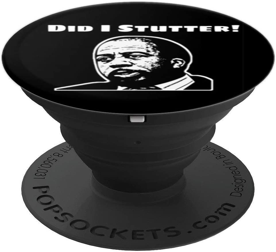 The Office Did I Stutter Stanley PopSockets Grip and Stand for Phones and Tablets