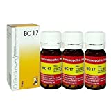 Dr.Reckeweg Germany Biochemic Combination Tablet Bc 17 Pack of 3