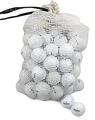 Bridgestone Recycled B/C Grade Golf Balls In Onion Mesh Bag (72 Piece), Assorted