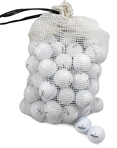 Best Buy! Bridgestone Recycled B/C Grade Golf Balls in Onion Mesh Bag (72 Piece), Assorted