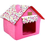 Cheap UEETEK Detachable Portable Pet House Bed for Small Dogs and Cats Size S (Pink)