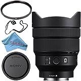 Sony FE 12-24mm f/4 G Lens SEL1224G + Fibercloth + Lens Capkeeper Bundle