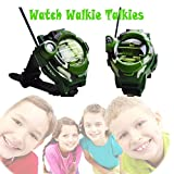 SOWOFA Kids' Watch Wireless Walkie Talkie Camo Military Walky-Talky Long Range Radios Call 3+ Mile Outdoor Activities Living Experience for Boys Girls Gifts