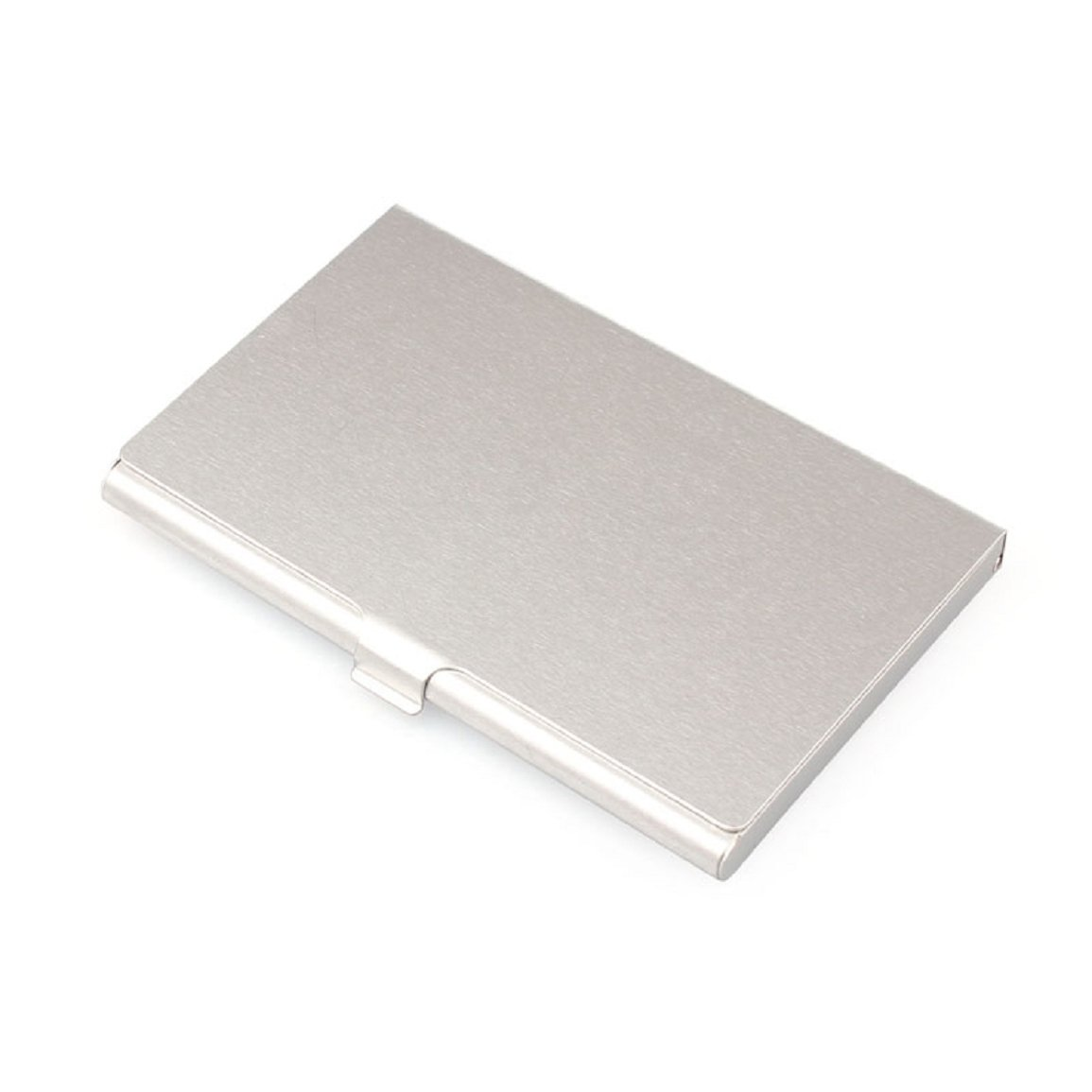Malloom® Support En Aluminium Créative Boîte En Métal Couverture Carte De Visite De Crédit Portefeuille