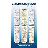 AngelStar 72455 Magnetic Bookmarks, Set of 6