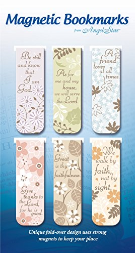 Way Bookmarks - Angel Star Magnetic Bookmarks, Set of 6