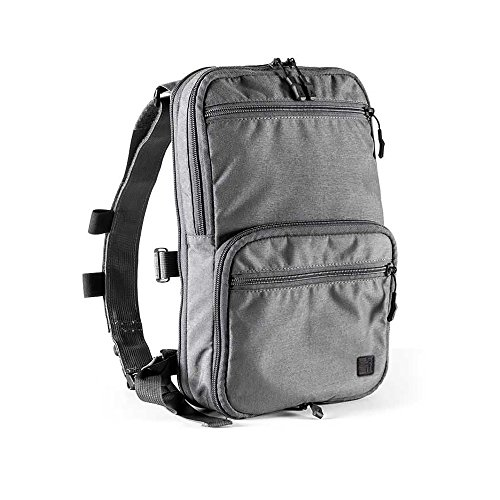 Haley Strategic Partners Flatpack with Straps, Grey by Haley Strategic Partners