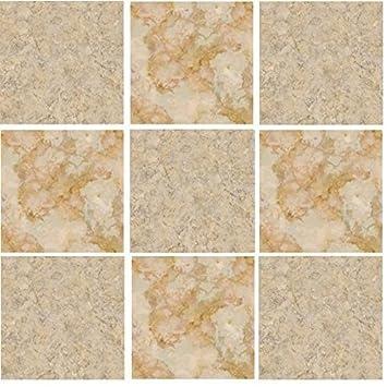 10Stück, cremefarben braun, Stein-Effekt, Mosaik ...