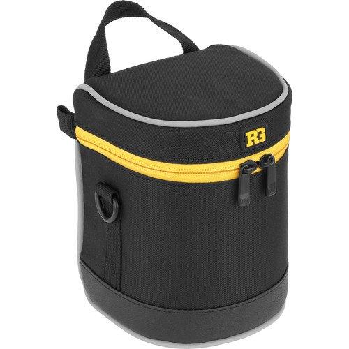 Ruggard Lens Case 5.0 x 3.5'' (Black)(6 Pack) by Ruggard