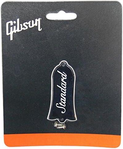 Les Paul Gibson  Truss Rod Cover Les Paul Custom in Schwarz Farbe
