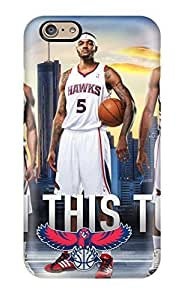 Beautifulcase atlanta hawks nba basketball NBA bW3x9pnVGDw Sports & Colleges colorful iPhone 6 case covers