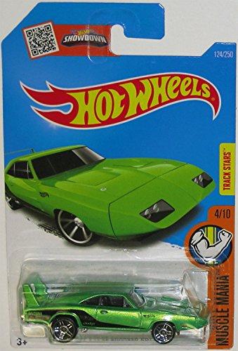 Hot Wheels 2016 Muscle Mania '69 Dodge Charger Daytona 124/250, - Daytona 250