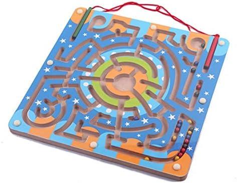 EisEyen magnética Puzzle Laberinto Madera Juguete con 2 lápiz magnético: Amazon.es: Hogar