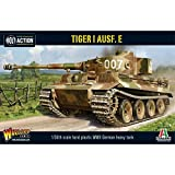 Bolt Action Tiger I AUSF E Heavy Tank 1:56 WWII Military Wargaming Plastic Model Kit
