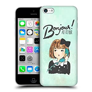 Head Case Designs Bonjour Au Revoir I Dream of Paris Protective Snap-on Hard Back Case Cover for Apple iPhone 5c